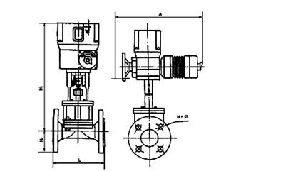 zazt-zazc电动隔膜调节阀